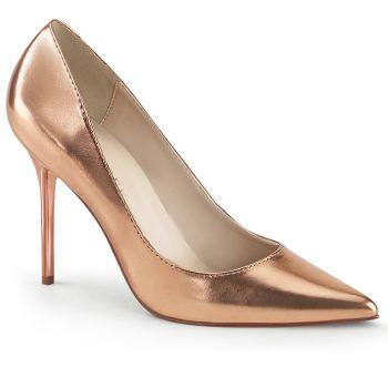 Stiletto Pumps CLASSIQUE-20 - Rose Gold Metallic