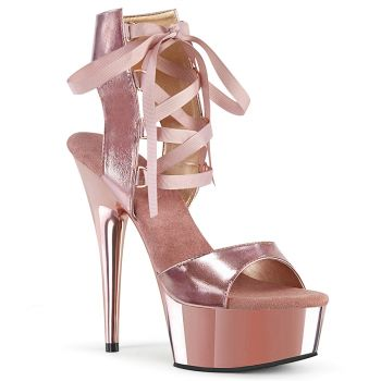 Plateau Sandalette DELIGHT-600-14 - Rose/Gold