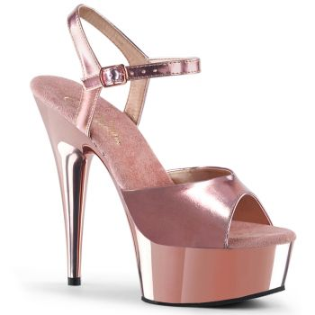 Plateau Sandalette DELIGHT-609 - Rose Gold