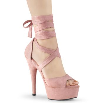 Plateau High Heels DELIGHT-679 - Baby Pink*