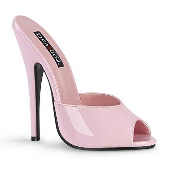 Extrem High Heels DOMINA-101 - Lack Baby Pink