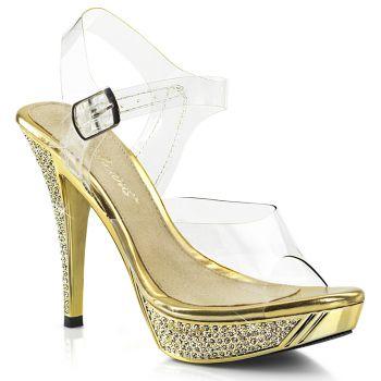 Sandalette ELEGANT-408 - Gold