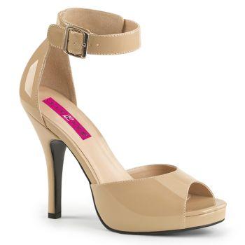 Sandalette EVE-02 - Lack Creme