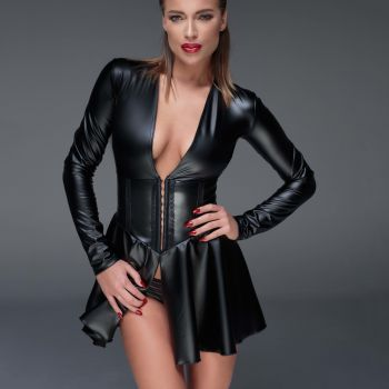 Wetlook Minikleid F154