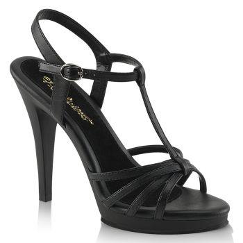 Sandalette FLAIR-420 - PU Schwarz