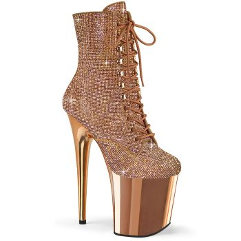 Extrem Heels FLAMINGO-1020CHRS - Rose Gold