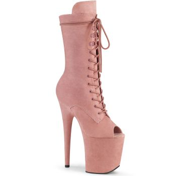 Extrem Plateau Heels  FLAMINGO-1051FS - Baby Pink