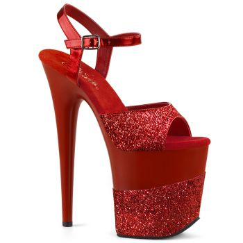 Extrem High Heels FLAMINGO-809-2G - Rot