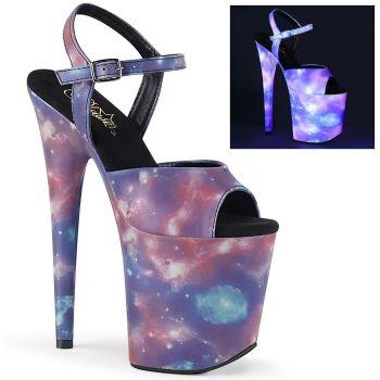 Extrem Plateau Heels FLAMINGO-809REFL- Galaxy