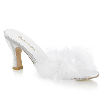 Kitten Heels FLAPPER-01F - Weiß