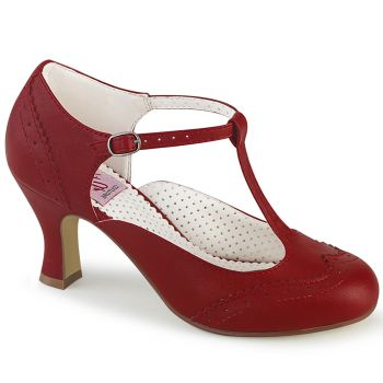 Pumps FLAPPER-26 - Rot*