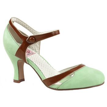 Retro Pumps FLAPPER-27 - Mint