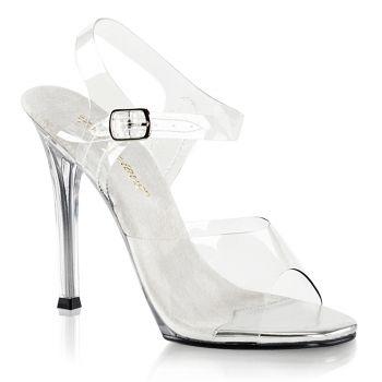 Sandalette GALA-08 - Weiß/Klar