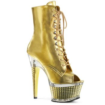Plateau Stiefelette ILLUSION-1021 - Gold