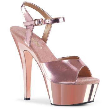 Plateau Sandalette KISS-209 - Rose Gold
