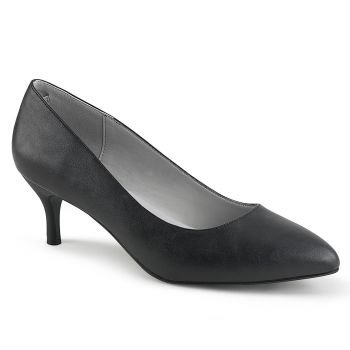Pumps KITTEN-01 - PU Schwarz*