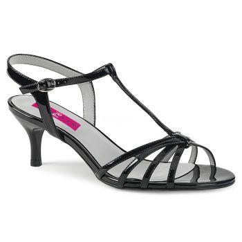 Sandalette KITTEN-06 - Lack Schwarz