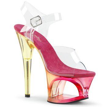 High Heels Sandalette MOON-708MCT - Pink