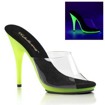 Neon Pantolette POISE-501UV - Lime