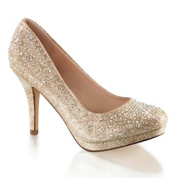 Pumps COVET-02 - Nude Glitter*