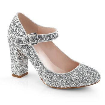 Mary Jane Pumps SABRINA-07 - Silber