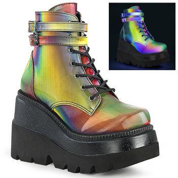 Plateau Ankle Boots SHAKER-52 - Regenbogen