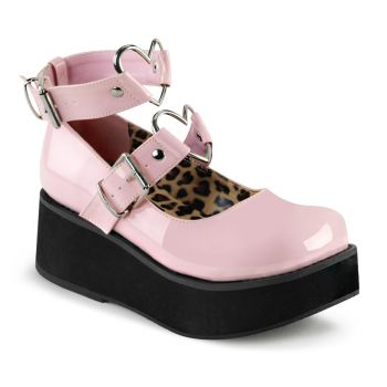 Plateau Mary Jane SPRITE-02 - Lack Baby Pink