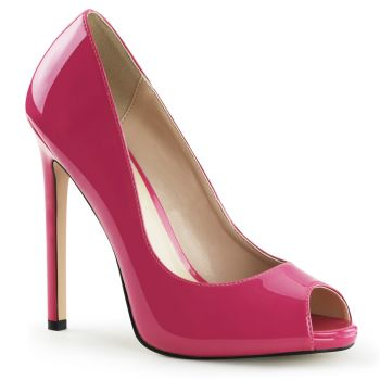 Stiletto Peeptoes SEXY-42 - Hot Pink