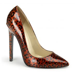 Leo High Heels SEXY-20 - Leopard Rot