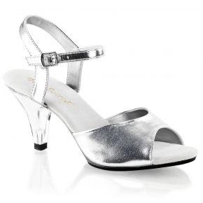 Sandalette BELLE-309 : Silber metallic*