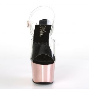 Plateau High Heels ADORE-708 - Rose Gold