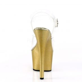 Plateau High Heels ADORE-708HG - Gold*