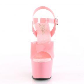Plateau High Heels ADORE-708N - TPU Baby Pink