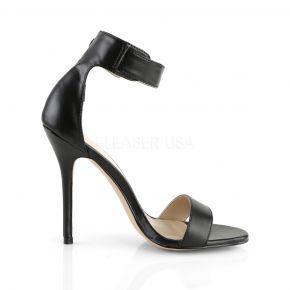 Sandalette AMUSE-10 - PU Schwarz