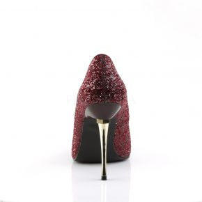 Stiletto Pumps APPEAL-20G - Glitter Burgundrot
