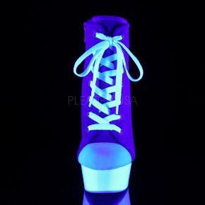 Canvas High Heel Sneakers DELIGHT-600SK-02 - Blau