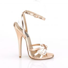 Extrem High Heels DOMINA-108 - Rose Gold