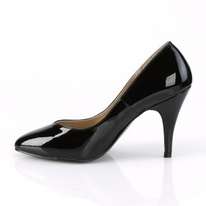 Pumps DREAM-420W - Lack Schwarz (Weit)
