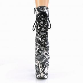 Extrem High Heels FLAMINGO-1020DP - Dollar Print