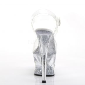 Plateau High Heels MOON-708MG - Klar