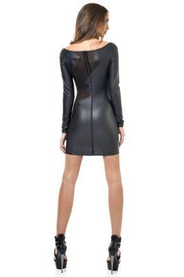 Wetlook Mini Kleid BRENDA*