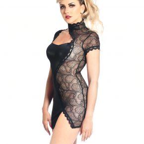 Mini Kleid DALYA - Schwarz