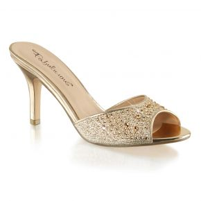 Pantolette LUCY-01 - Gold