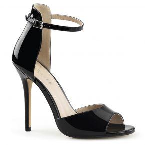 Sandalette AMUSE-14 - Lack Schwarz
