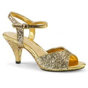 Glitter Sandalette BELLE-309G - Gold