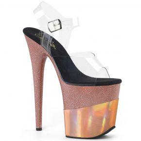 Extrem High Heels FLAMINGO-808-2HGM - Rosé Gold
