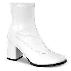 Klassische Stiefelette GOGO-150 - PU Weiß