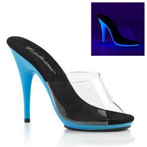 Neon Pantolette POISE-501UV - Blau