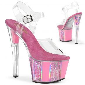 Plateau High Heels SKY-308OF - Baby Pink